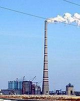 Flue-gas stack