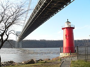 Little Red Lighthouse - The George Washington Bridge and the Little Red Lighthouse (2011)