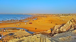 Gadani Beach Top View, Hub, Balochistan, Pakistan.jpg