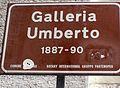 Galleria Umberto I cartello.JPG