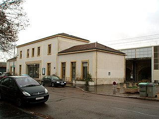 railway station in Dijon, France
