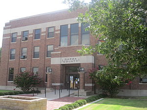 Garza County, Texas - Image: Garza County, TX, Courthouse IMG 4633