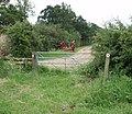 Gate on footpath - geograph.org.uk - 455076.jpg