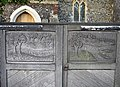 Gates of St Mary the Virgin, Upchurch - geograph.org.uk - 81616.jpg