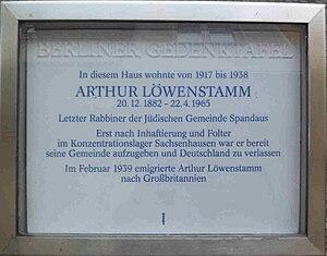 Arthur Löwenstamm -  thumb