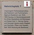 Gedenktafel Heinrichsplatz 7 (Meißen) Sigmund Badehorn.jpg