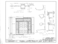 General Joseph Wheeler House, State Highway 20, Wheeler, Lawrence County, AL HABS ALA,40-WHEL,1- (sheet 6 of 11).png
