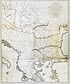 General Outline of the Authors Route through, Greece, Macedonia, Thrace, Bulgaria, Walachia, Transylvania, and Hungary - Clarke Edward Daniel - 1816.jpg