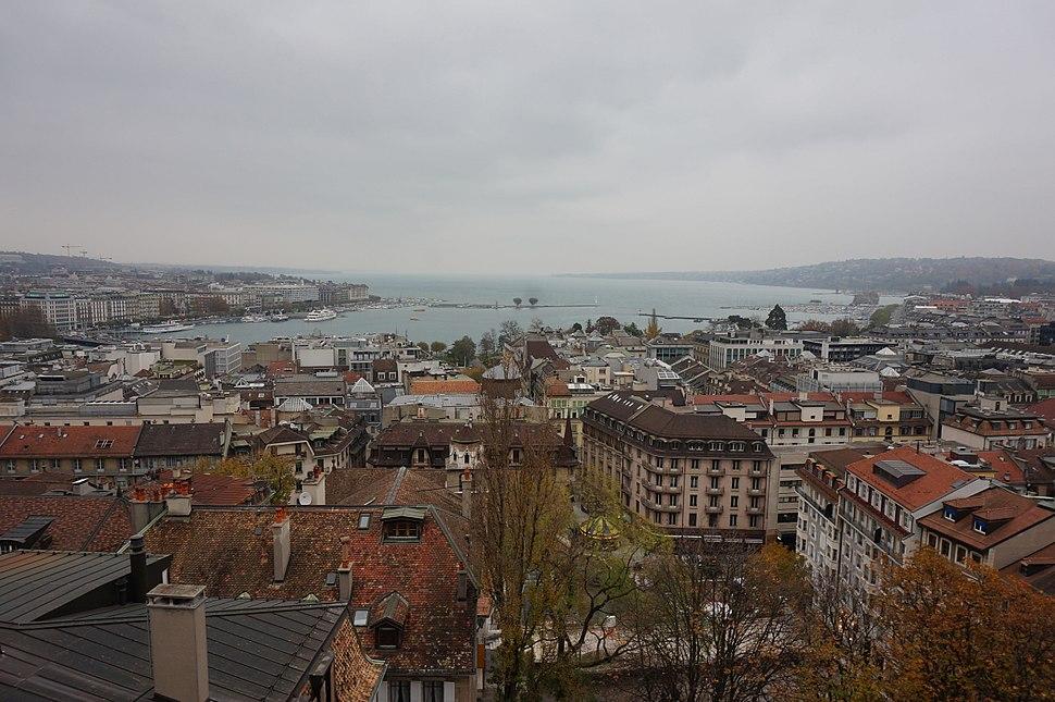 Geneva and Lake Geneva View