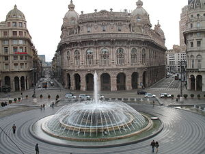 Immagine da Genova - piazza De Ferrari