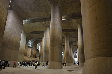 The MAOUDC is the world's largest underground diversion floodwater facility