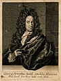 Georg Ernst Stahl. Line engraving, 1715. Wellcome V0005595.jpg