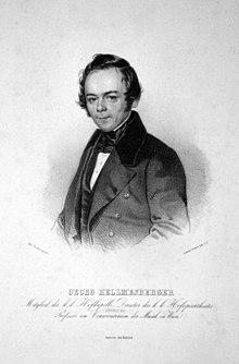 Georg Hellmesberger Senior, Lithographie von Gabriel Decker, 1839 (Quelle: Wikimedia)