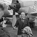 George Balanchine op Schiphol, Bestanddeelnr 918-1051.jpg