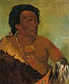 George Catlin - Sky-se-ró-ka, Second Chief of the Tribe - 1985.66.56 - Smithsonian American Art Museum.jpg