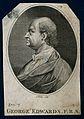 George Edwards. Line engraving by J. Tookey after I. Gosset. Wellcome V0001743EL.jpg