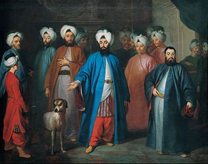 Mehmed Said Efendi and his Retinue