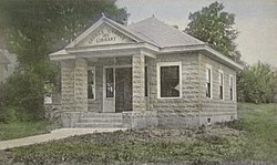 George Gamble Library c. 1912