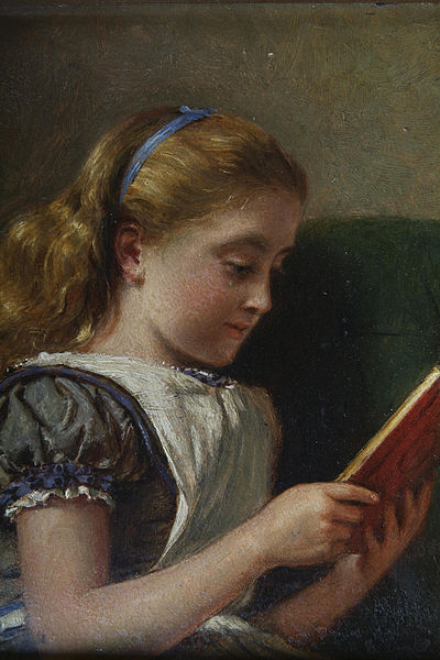 400px-George_Goodwin_Kilburne_Young_girl_reading.jpg (400×600)