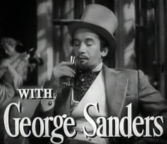 George Sanders in The Picture of Dorian Gray trailer