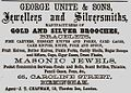 George Unite & Sons advert.jpg