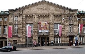 Theater Lübeck - The Art Nouveau facade
