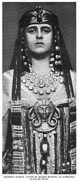 Johnston Forbes-Robertson - Gertrude Elliott as Cleopatra