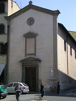 Oratory of Gesù Pellegrino - Facade