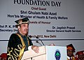 Ghulam Nabi Azad addressing the first batch of Post Graduate and Super Speciality students passing out of the Post Graduate Institute of Medical Education & Research, Dr. Ram Manohar Lohia Hospital (PGIMER-RML).jpg