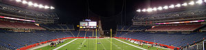 Gillette Stadium - Image: Gillette Stadium 1