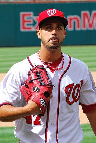 2012 Washington Nationals season - Gio González
