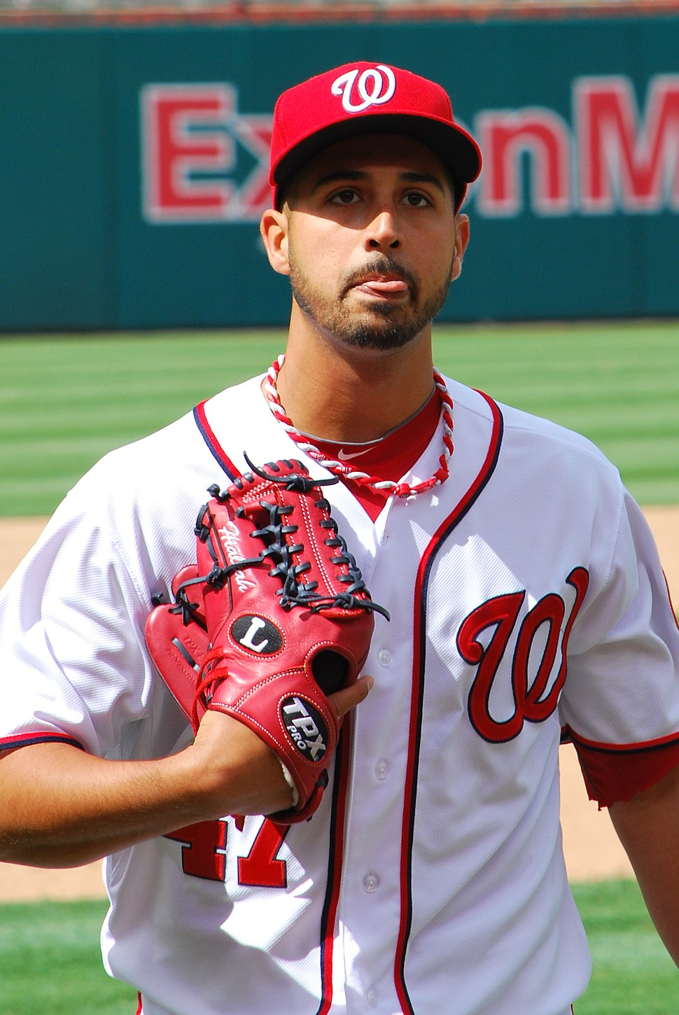 Gio Gonzalez on April 12, 2012