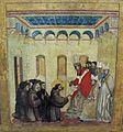 Giotto di bondone, stimmate di s. francesco con stemma cinquini, 1297-99, da s. francesco a pisa, 03.JPG