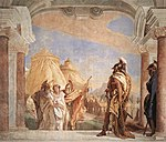 Giovanni Battista Tiepolo - Eurybates and Talthybios Lead Briseis to Agamemmon - WGA22334.jpg