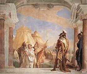 Briseide condotta ad Agamennone