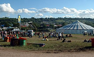 Glastonbury Festival - Circus area, 2004