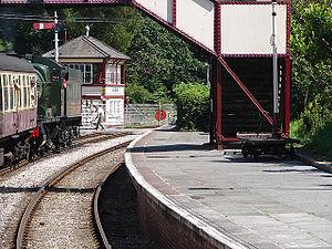 Glyndyfrdwy - Image: Glyndyfrdwy railway station in 2007