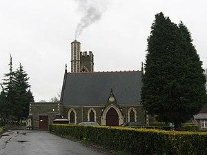 Glyntaff - Image: Glyntaff Crematorium geograph.org.uk 622694