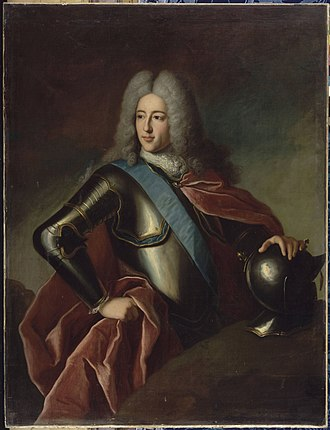 Louis Henri, Duke of Bourbon - Image: Gobert, attributed to Louis Henri of Bourbon, Prince of Condé Versailles, MV3727
