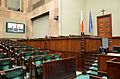 Government benches in the Sejm Plenary Hall.JPG