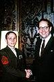 Governor Richard Thornburgh shakes hands with Sergeant Kenneth Kraus.jpg