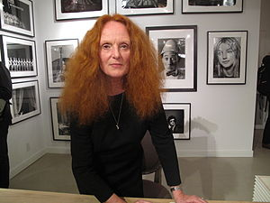 Grace Coddington - Grace Coddington at a 2009 signing for her book, The Catwalk Cats.