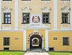 Grafenstein Schloss 1 Schloss Grafenstein N-Portal Sprenggiebel und Supraporte 26072018 4020.jpg