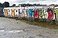 Graffiti (Beach Art) - Sandymount Strand (6050711345).jpg