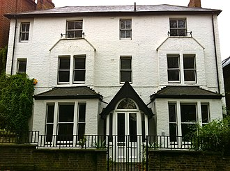 Graham Chapman - Chapman lived in this house in Highgate with his partner David Sherlock during the late 1960s.