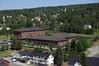 Gran, Norway - View of Jaren in Gran