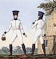 Grande Armée - Line Infantry Soldiers in Waistcoats & Fatigue Caps.jpg