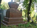 Grave of Aleksandr Shcherbatov in the Euphrosyne Cemetery in Vilnius.JPG