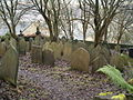 Grave yard of Cross Lanes Chapel, Hebden Bridge - geograph.org.uk - 273300.jpg