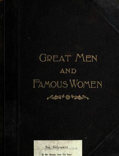 File:Great Men and Famous Women Volume 6.djvu